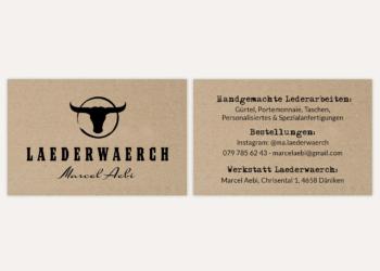Gestaltung Logo, Visitenkarte und Stempel